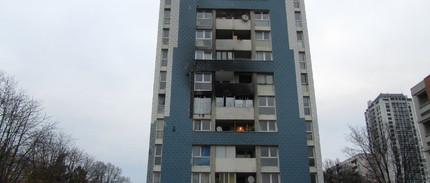 Sinistre Incendie Logements N° : 501 et 502 Niveau 5