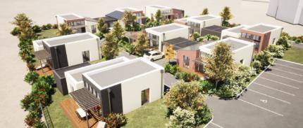 Construction de 9 logements à Oudalle