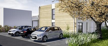 Construction de 5 logements destinés à la location à Gasny