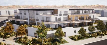 Projet d'un immeuble de 54 logements à Val de Reuil